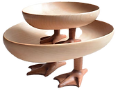 Cute Goose Or Chick Feet Bowl Perfectly Functional