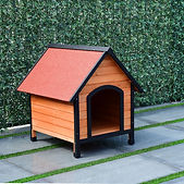 Wooden Pet House Dog Cat Puppy Room Bed