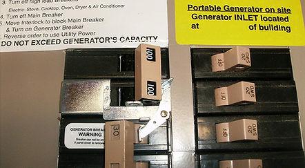 CH100UL Cutler Hammer Generator Interloc