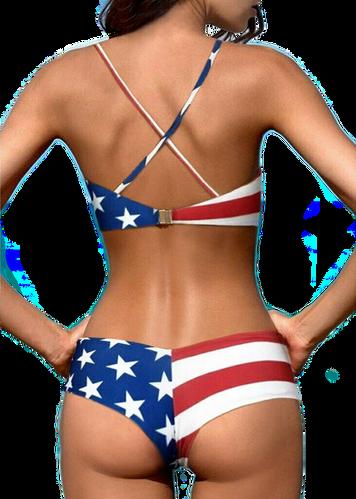 stars & strips bikini