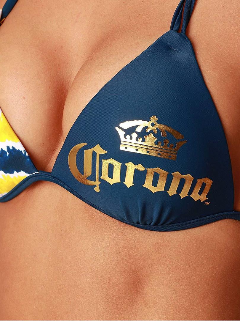 Corona Triangle Swimsuit Fashion Summer
