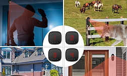 Wireless Driveway Alarm, Motion Detector