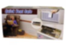 Hidden Vent Safe with RFID Lock ~ White