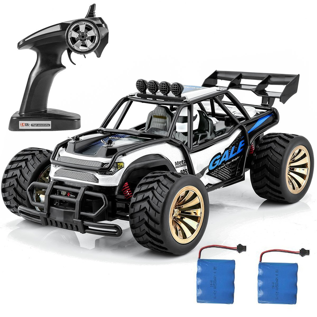 Distianert 1-16 Scale Electric RC Car Off Road Vehicle $50.99
