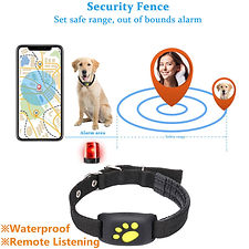 Waterproof Pet GPS Tracker Dog Cat Secur