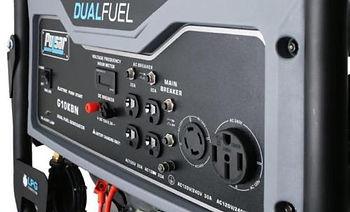 Pulsar 10000W Portable Dual Fuel Propane