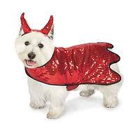 Dog Halloween Costume Sequin Devil Pet.j