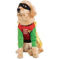 Robin Costume Pet Superhero Dog Hallowee