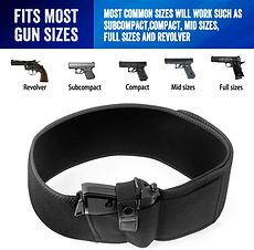 Belly Band Holster for Concealed Carry..