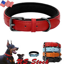 Leather Dog Pet Collar Leash Harness For