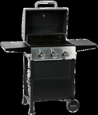 3 Burner Gas Grill BBQ Garden Patio Stai