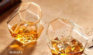 Dragon Glassware Diamond Whiskey Glasses