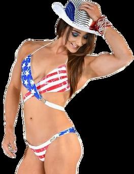 USA flag Bikini, Patriotic Swimwear