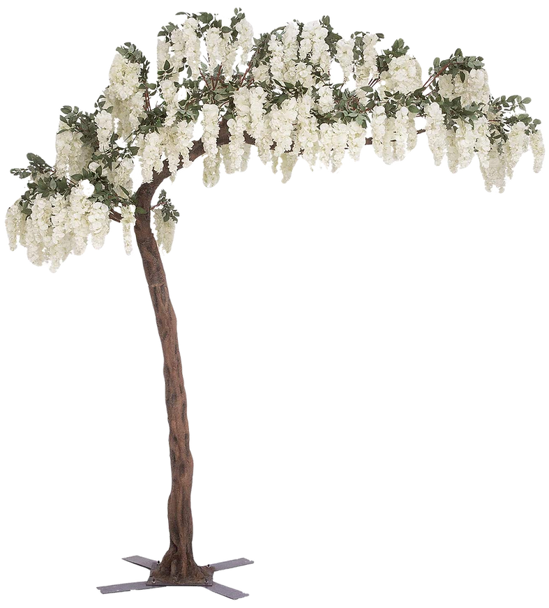 Wisteria Tree Decoration, 11ft Tall,