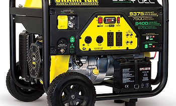 Champion 7500-Watt Dual Fuel Portable Ge