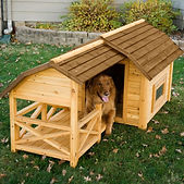Large Outdoor Dog House Kennel Insulated