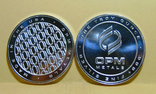 OPM Metals .999 Fine Silver One Troy Oun