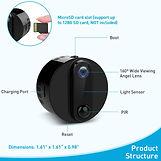 4K Mini Spy Camera Wireless Hidden WiFi