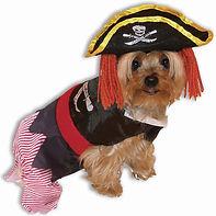 Pirate Doggie Pet Costume Pet Halloween