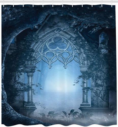Fantasy Shower Curtain, Passage Doorway