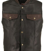 Men's Made in USA Horsehide Stand up Col