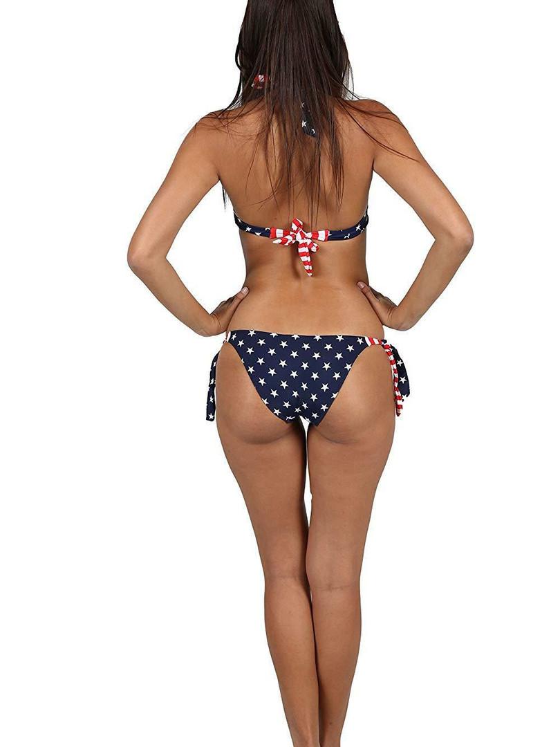 AMERICAN FLAG USA Bikini Set Underwire F