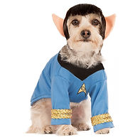 Spock Pet Costume Pet Star Trek Hallowee