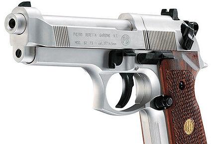 Umarex Beretta Air Pistol M92FS Nickle .