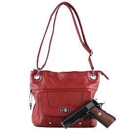 Concealed Carry Gun Purse Twist Lock Poc