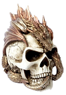 Dragon Keeper's Skull Norse Mythology