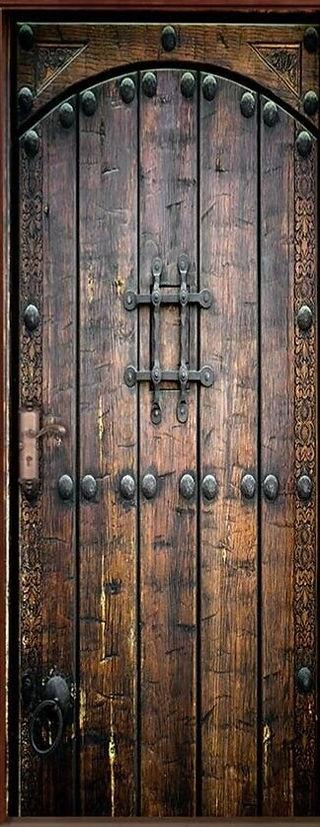 Old door decal