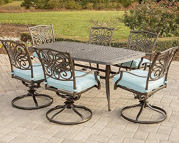 Hanover Traditions 7 Piece Dining Set in