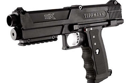Tippmann Black TiPX Paintball gun Pistol