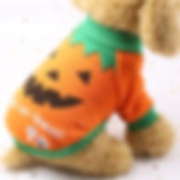 Halloween Jumpsuit Pet Costume Cat Dog P