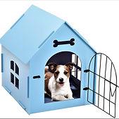 Pet House Crate Small Dog Cat Wooden Ken