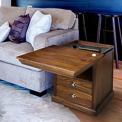 Lincoln Nightstand with Concealed Compar