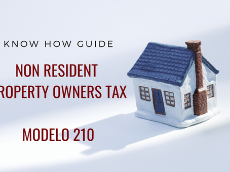 Non-Resident Property Owners Tax - Modelo 210
