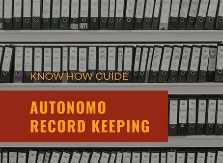 Know How Series... Autonomo Record Keeping