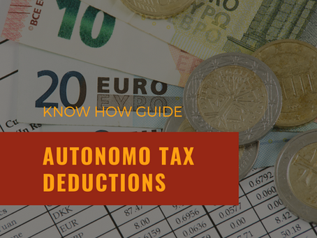 Know How Series... Tax deductions for Autonomos