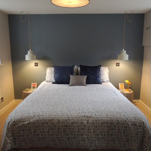 Dual aspect stylish and comfy bedroom