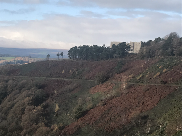 Castle Drogo and the Teign Valley