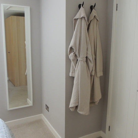 Robes for use during your stay