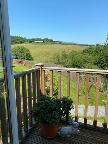 The view from your terrace in summer