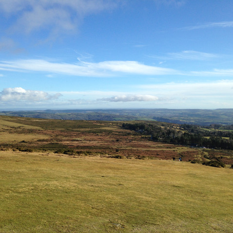 View from Hay Tor