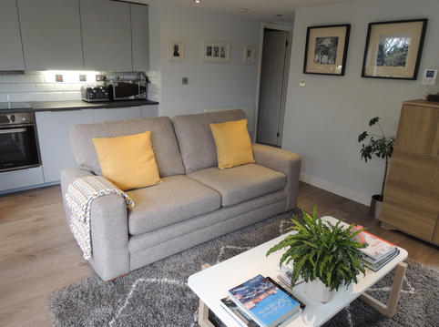 Living room towards hallway