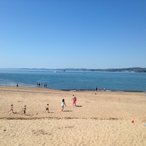 Exmouth beach - 30 min drive away