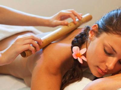 Massagem Bamboo