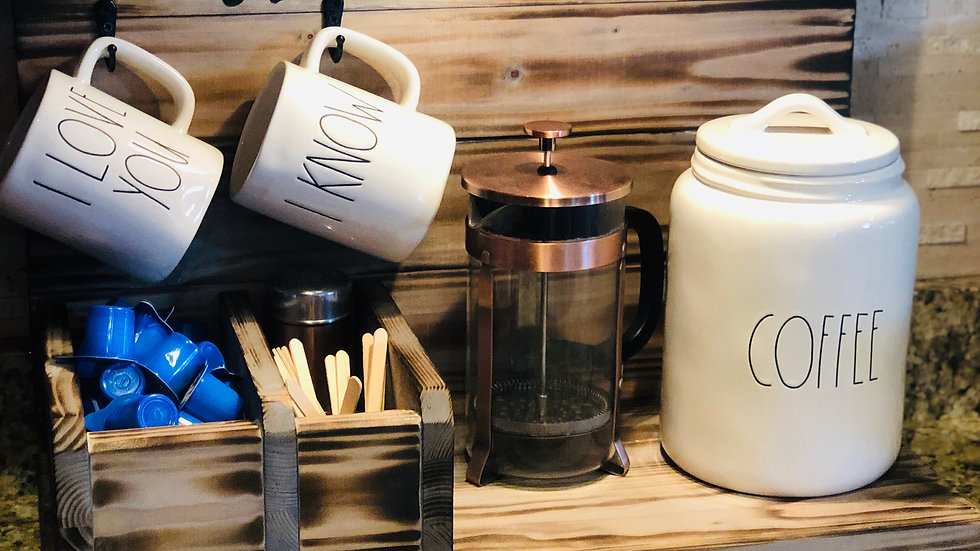 Countertop Coffee Organizer