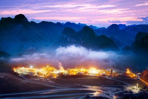 China Gold Processing Plant