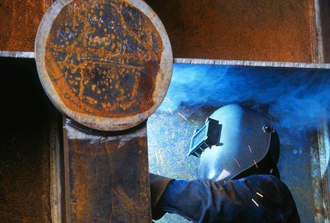 Welder Samsung Shipyard